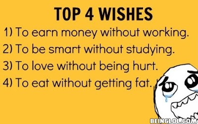 Top 4 Wishes !