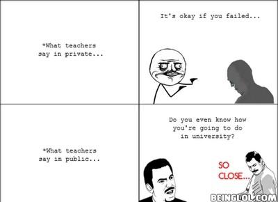 Teachers These Days …