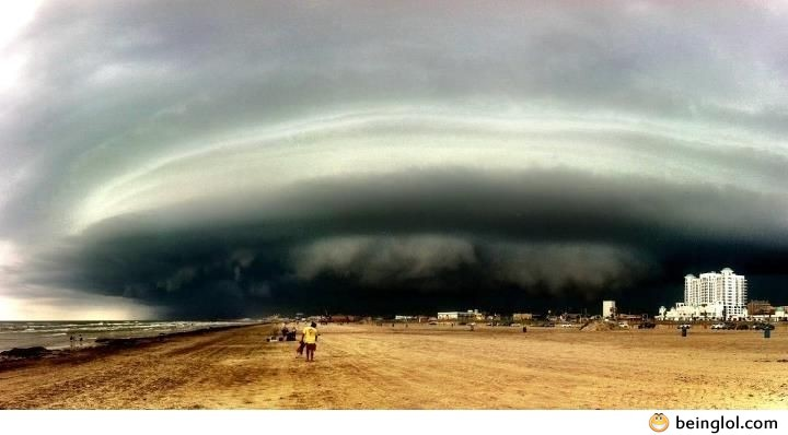 A Picture of a Storm In Texas