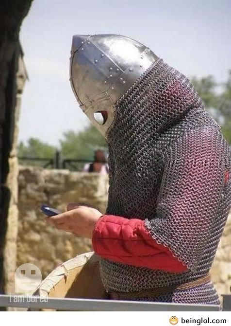 Medieval Chad Gets Bad News Via Text