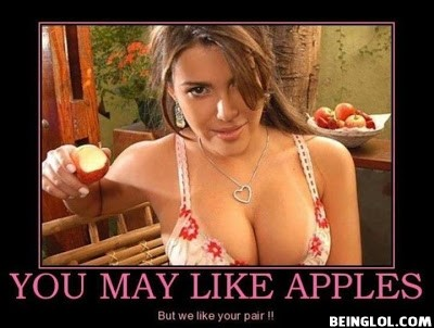 You May Like Apples !