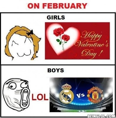 What Febraury Means - Boys Vs Girls