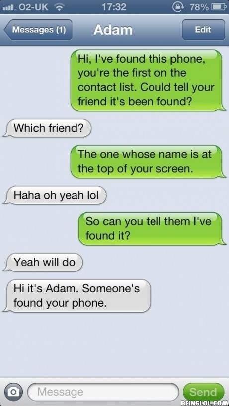 Found a Phone