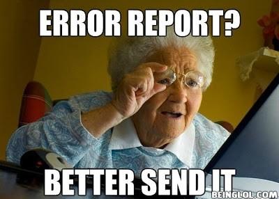 My Grandma On Her Windows .