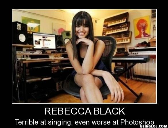 She May Be a Terrible Singer But There Are Things Shes Worse At