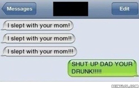 Shut Up, Dad!