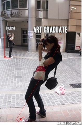 The Difference That Art Degree Makes....!!!