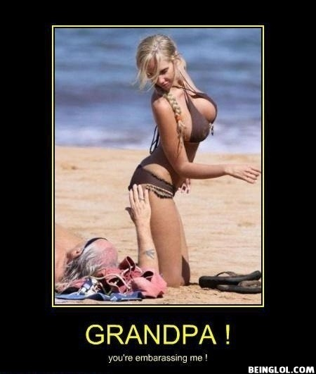 That Isn't Her Grandpa..