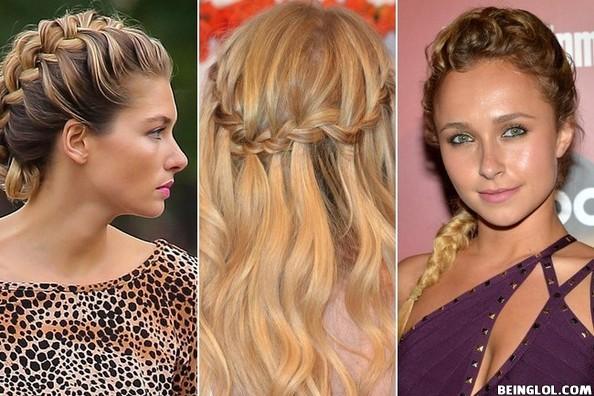 Cute Celebrity Inspired Braid Ideas