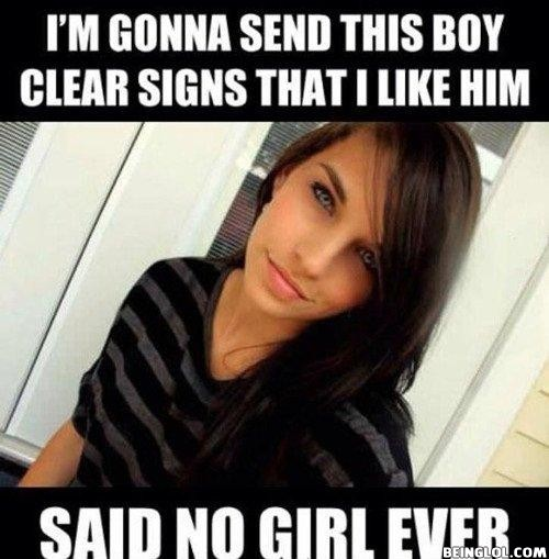 Said No Girl Ever