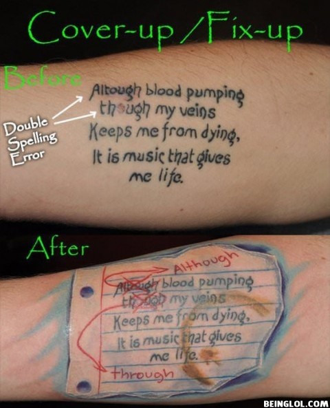 Best. Tattoo Fix. Ever!!!