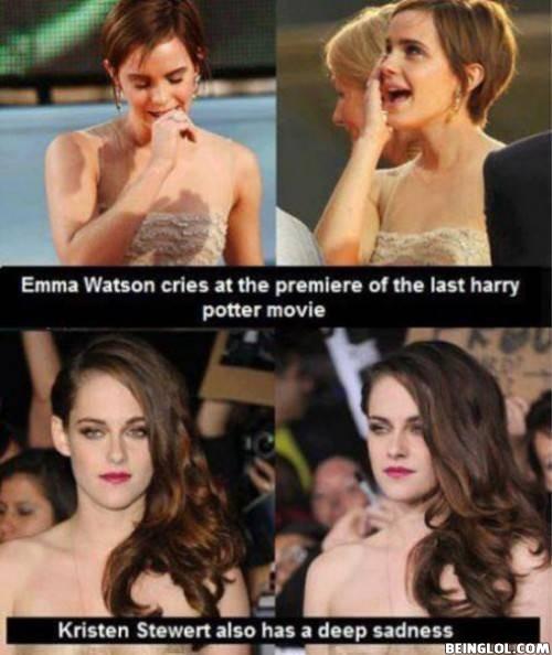 Epic Emma Watson Vs Kristen