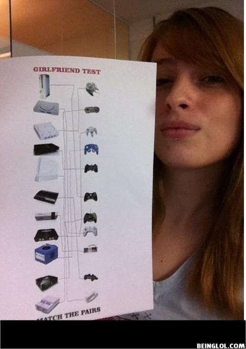 Girlfriend Test