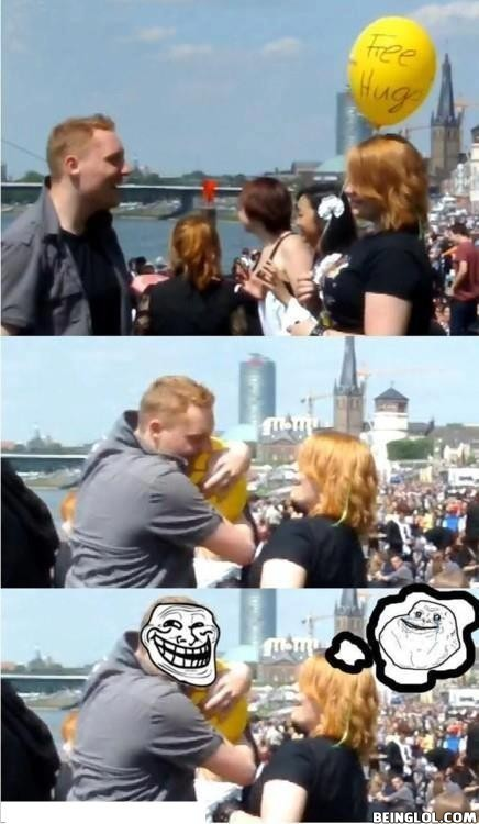 Free Hug – Epic Fail!