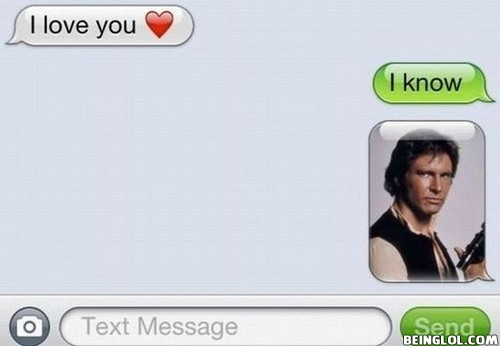 I Love You! I Know