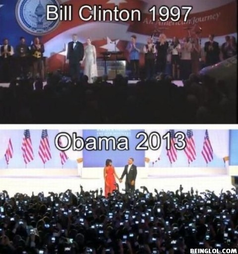 Bill Clinton 1997 Vs Obama 2013 – Can You See the Difference?