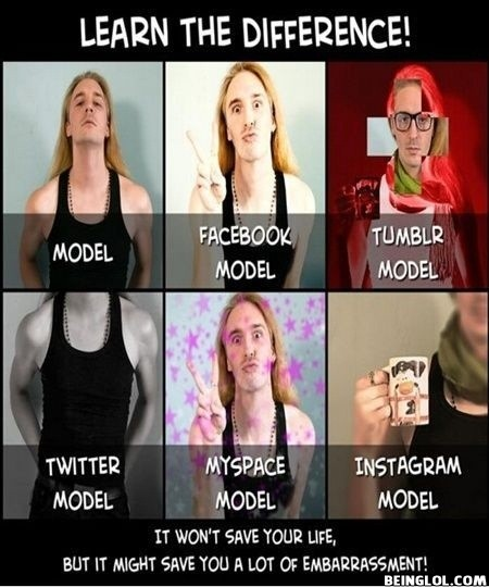 Difference Between Models