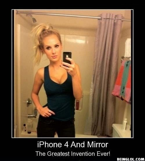Fail Iphone 4 and Mirror