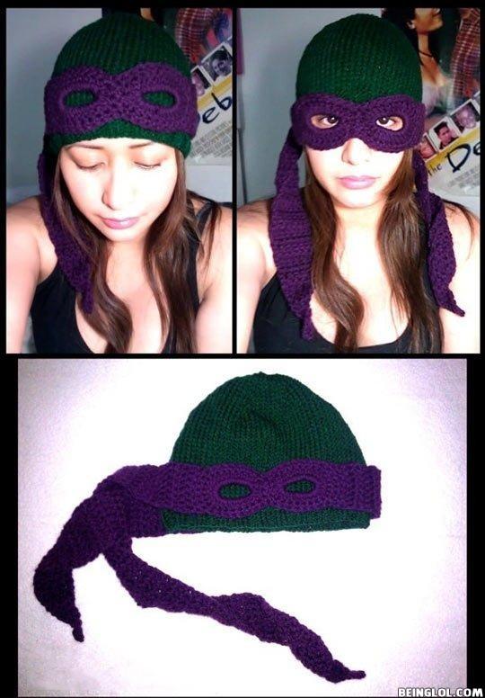 Cool Ninja Turtle Wool Hat