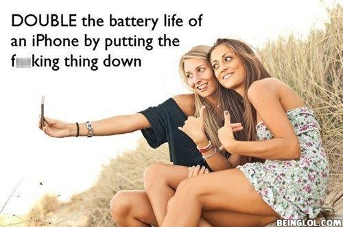 Double the Iphone Battery