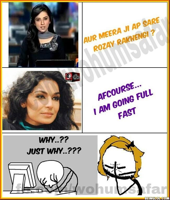 Meera Ji Aap Saray Rozay Rakhengi ??