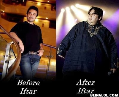 Before and After Iftaar
