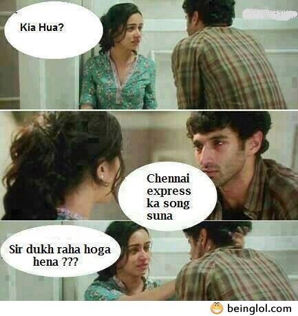 Chennai Express Ka Song Suna?