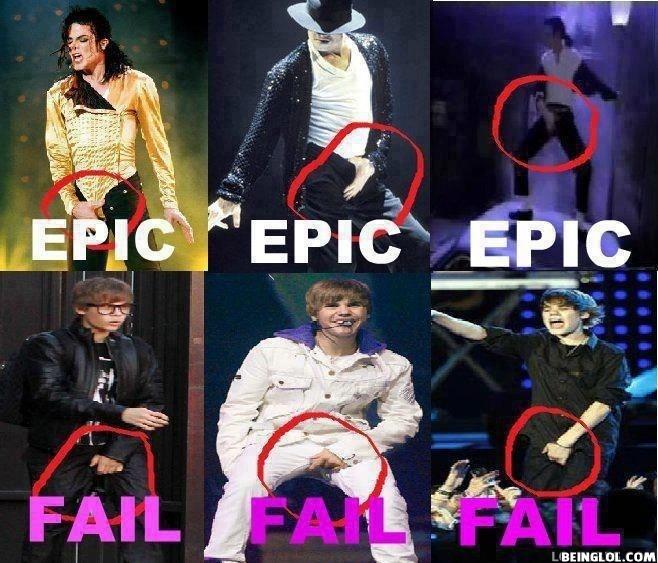 Justin Bieber Vs Michael Jackson..