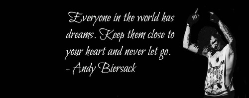 This Is Andy's Quote.....