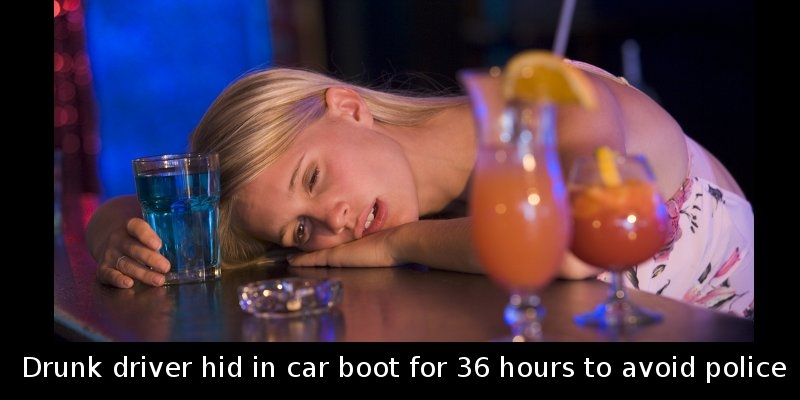 Did You Know That a Drunk Driver Hid In Her Car's Boot For 36 Hours Because…