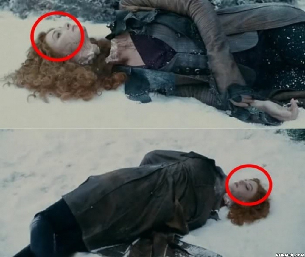Breaking Dawn Mistake