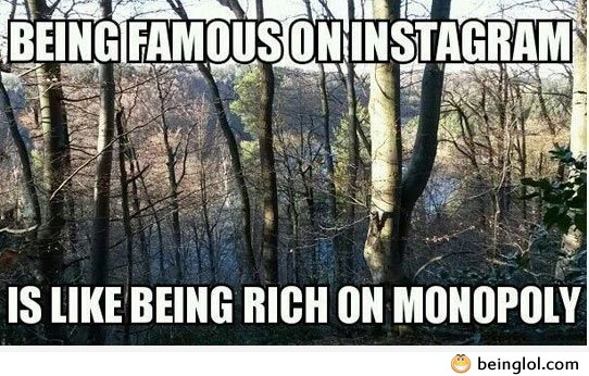 Funny Saying About Instagram Users