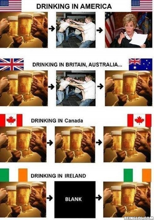 Drinking In Different Countries