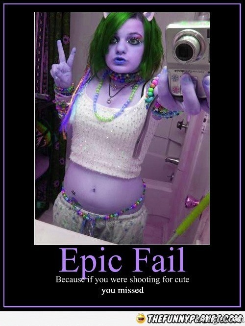 Epic Self Pic Fail
