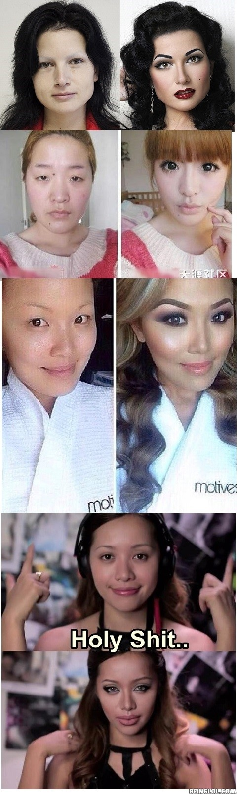 Mind Blowing Make Up Transformations