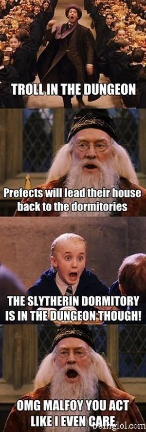 Trolling Dumbledore