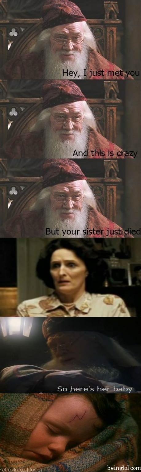 Dumbledore Trolling. Xd