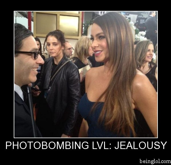 Photobombing... Level Jealousy