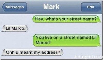 What's Youre Street Name..?
