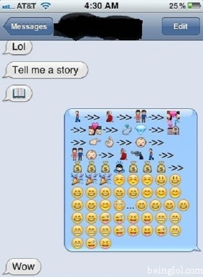 Lol Tell Me a Story.