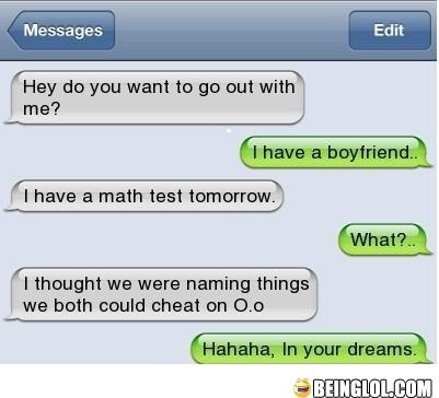 Trustworthy Girlfriend!