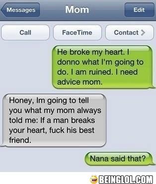 He Broke My Heart!