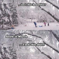 Snow In March