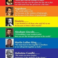 Seven Brillian Quotes