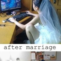 When Gamer Girl Gets Married