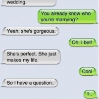 Proposing Via Text - Cute!