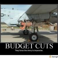 Funny Army Budget Cuts