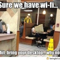 We Have Wi-fi