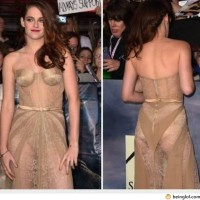 Kristen Stewart's Outfit Left Little To Imagination