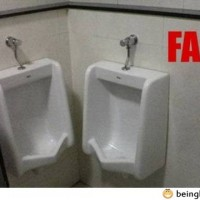 Bathroom Fail